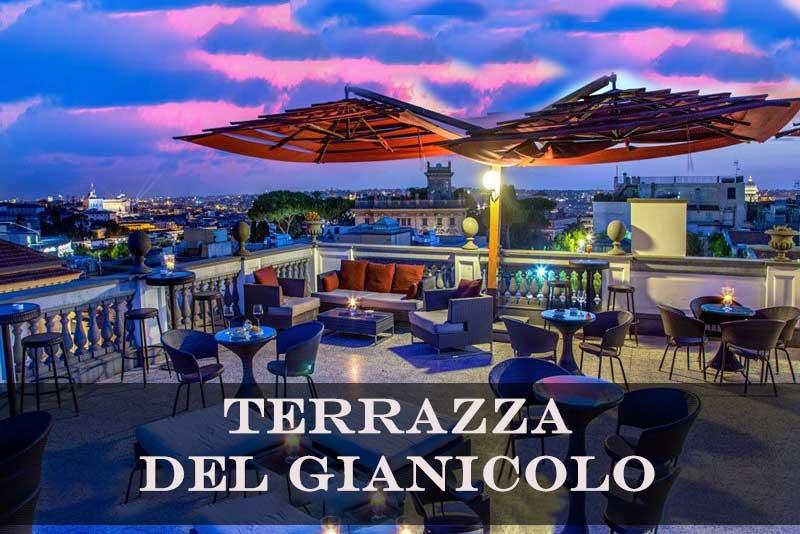 Terrazza Del Gianicolo Roma Centro Addio Celibato Roma