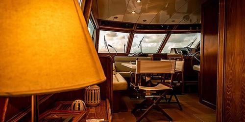 barca yacht interno